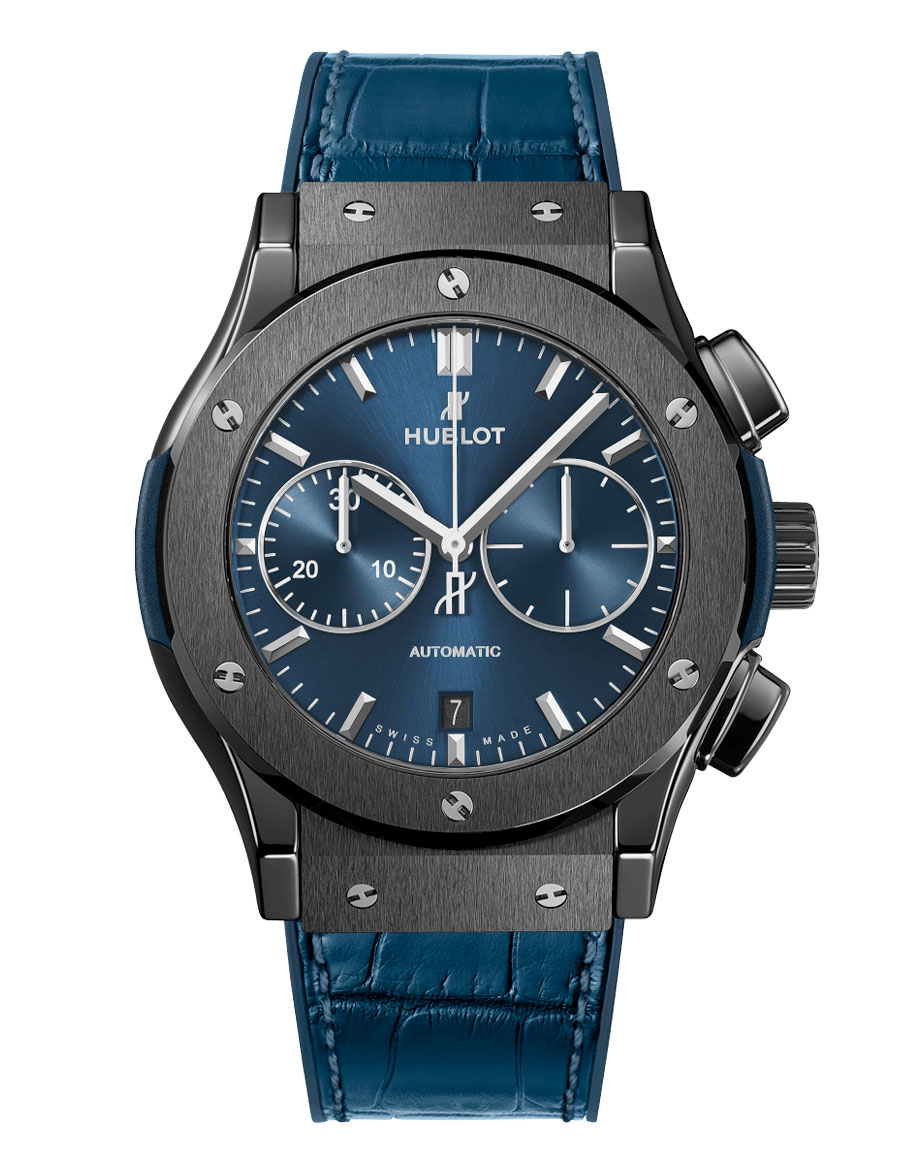 Classic Fusion Ceramic Automatic Chronograph Watch
